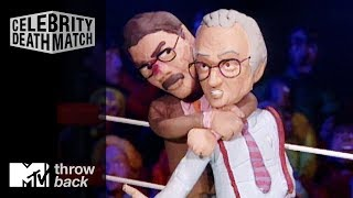 'Larry King vs. Geraldo Rivera' Official Clip | Celebrity Deathmatch | #TBTMTV