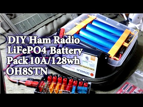 DIY Portable LiFePO4 Power for Ham Radio QRP QRO
