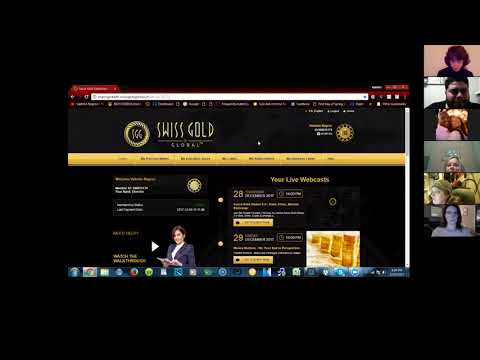 Swiss Gold Global Leadership Review Q & A Session 2018- Best Passive Crypto-Currency Program Online