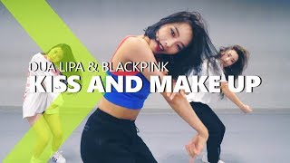 Dua Lipa & Blackpink - Kiss And Make Up  Hazel Choreography.