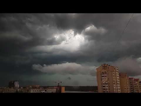 Смерч в Запорожье 25 июля 2018. Буря и ливень в Запорожье