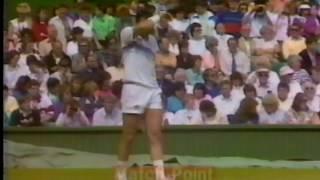 1987ウインブルドン テニス  レンドル対カーネ