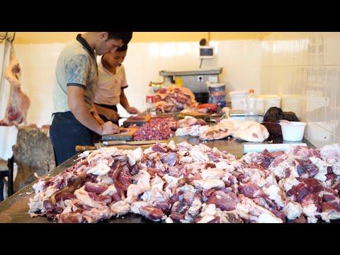 Узбекистан.Голодным не смотреть!!!!!!Тандыр шашлык.
