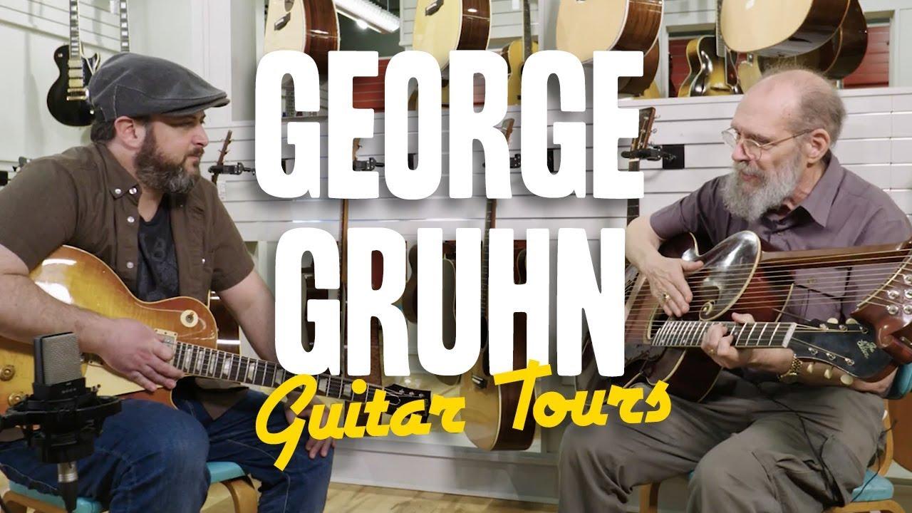 George Gruhn of Gruhn's Guitars - Marty's Guitar Tours
