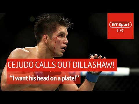 "Henry Cejudo: ""I want TJ Dillashaw's head on a plate!"" 