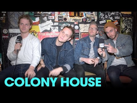 """Colony House Talk About Their Album """"Only The Lonely"""" - Toronto Interview, 2017"""