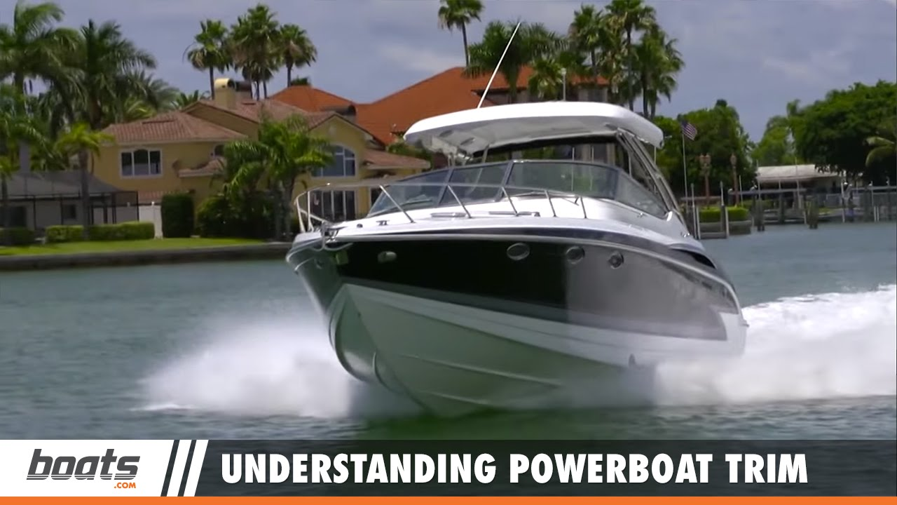 Lenny's Boating Tips: Understanding Powerboat Trim