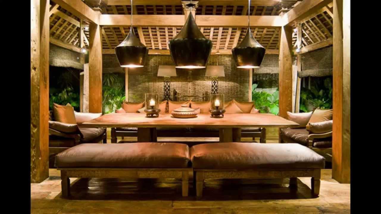 Gambar Desain Interior Rumah Adat Bali  Interior Rumah