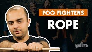 Rope - Foo Fighters (aula de bateria)