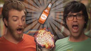 Rhett & Link Sing to their theme [Good Mythical Soda]
