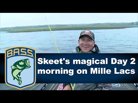 Skeet gets a workout catching smallmouth on Mille Lacs