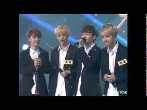 130927 EXO   Open Arms Acapella Ver ) @ China Big Love Concert ( Baekhyun, Chen, D.O. and Luhan )