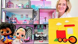 Die Wunderbox - Wir brauchen Möbel für das neue LOL Haus - Spielzeugvideo für Kinder