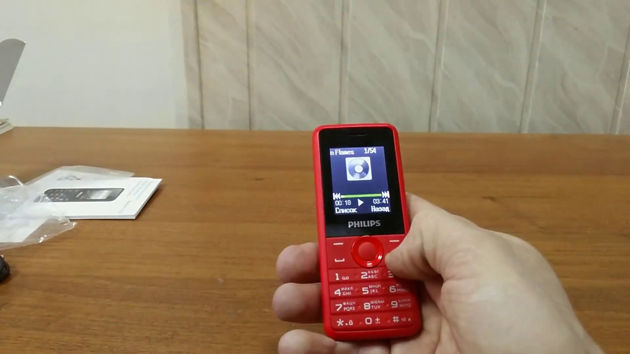 Philips Xenium E570- телефон способный прожить полгода без .