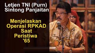 Download lagu Letjen TNI (Purn) Sintong Panjaitan Tentang Operasi RPKAD Paska 30 September '65
