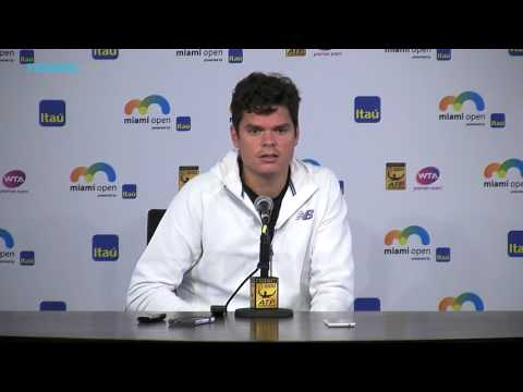 Milos Raonic Interview After Withdrawing from Miami Open