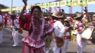 Carnaval de Barranquilla 2013 Cumbiamba El Cañonazo