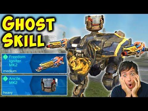 NEW GHOST SKILL LANCELOT - Fast Mk2 Ancile TANK War Robots Gameplay WR
