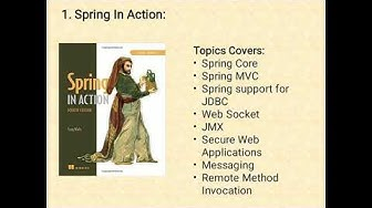 3 Best Spring Framework Books for Java Developes