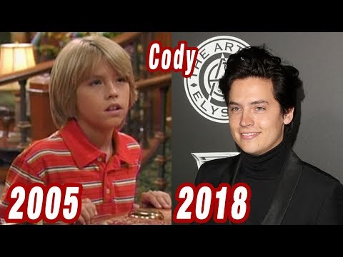 The Suite Life of Zack \u0026 Cody , THEN AND NOW 2018 , YouTube
