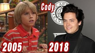 The Suite Life of Zack & Cody - THEN AND NOW 2018