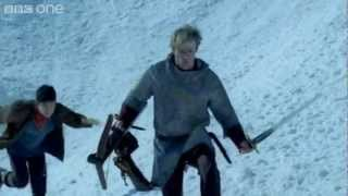Merlin and Arthur's Escape - Merlin: Arthur's Bane Part 2 - Series 5 Episode 2 - BBC One