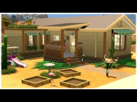 The Sims 4: Speed Build // WILLOWS TRAILER // NO CC