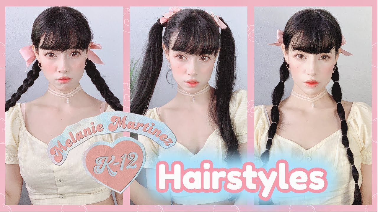 Melanie Martinez K12 Movie Hairstyles Ideas Tutorial Youtube