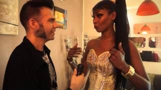 CORONA CANTANTE POP 90 INTERVIEW,PHOTO BY FREDDY RIVERA N,DJ WILLIAM RETRO,