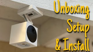 WYZE Cam Outdoor Unboxing, Setup & Install - Full Step By Step How To Setup Tutorial