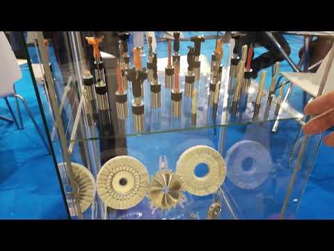 Инструмент для производства мебели и деревообработки на выставке UMIDS в Краснодаре.