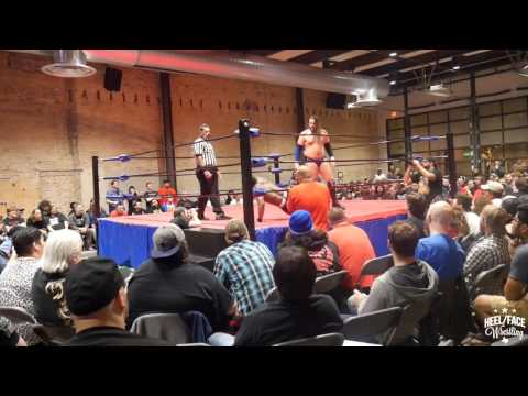 [Free Match] ACH vs. Chris Hero at Wrestle Circus 12/17/2016