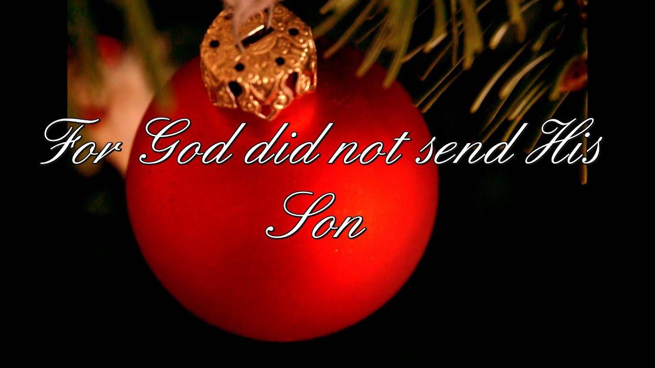 God So loved the world - Christmas Gospel Piano Solo [HD] - YouTube