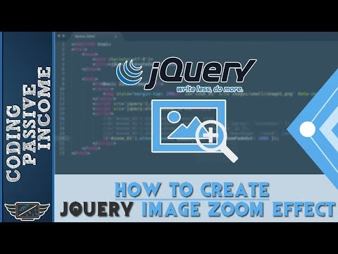 jQuery Tutorial For Beginners: How To Create jQuery Image Zoom Effect