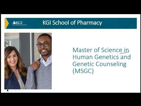 KGI Prospective Students - MS  in Genetic Counseling