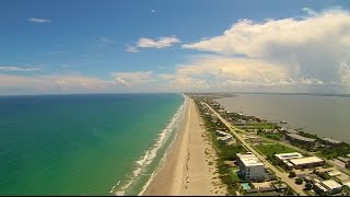 Over South Cocoa Beach by Drone Yuneec Q500 Typhoon Video