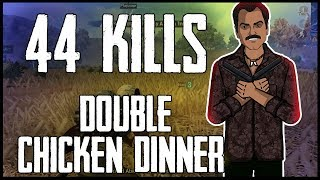 44 Kills Double Chicken Dinner with Gaitonde   Jack Shukla Live