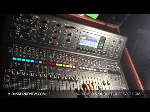 Live sound check - Midas M32 /Knucklehead