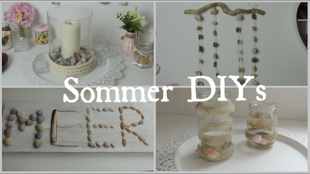 diy sommer deko youtube. Black Bedroom Furniture Sets. Home Design Ideas