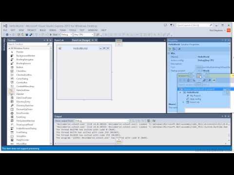 Visual Basic .NET Tutorial | IDE Tour