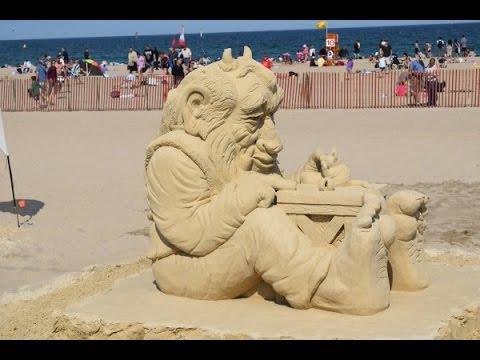 Sand Sculpture Clic Hampton Beach New Hampshire 2017