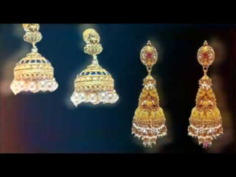 Jhumkas latest jewelry designs | gold buttalu