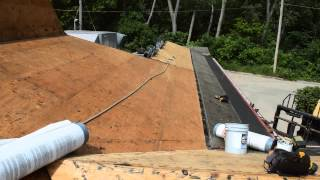 Eric Rogers Roofing Pizza Hut Remove & Replace Metal Roofing 2015