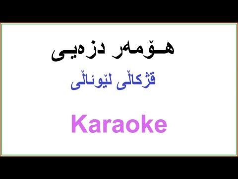 Kurdish Karaoke- Homer Dizeyee هــۆمه ر دزه یـی ـ قژکاڵی لێوئاڵی