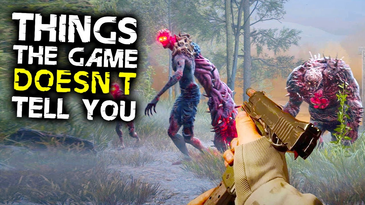 Download Back 4 Blood - 10 Things The Game DOESN'T TELL YOU