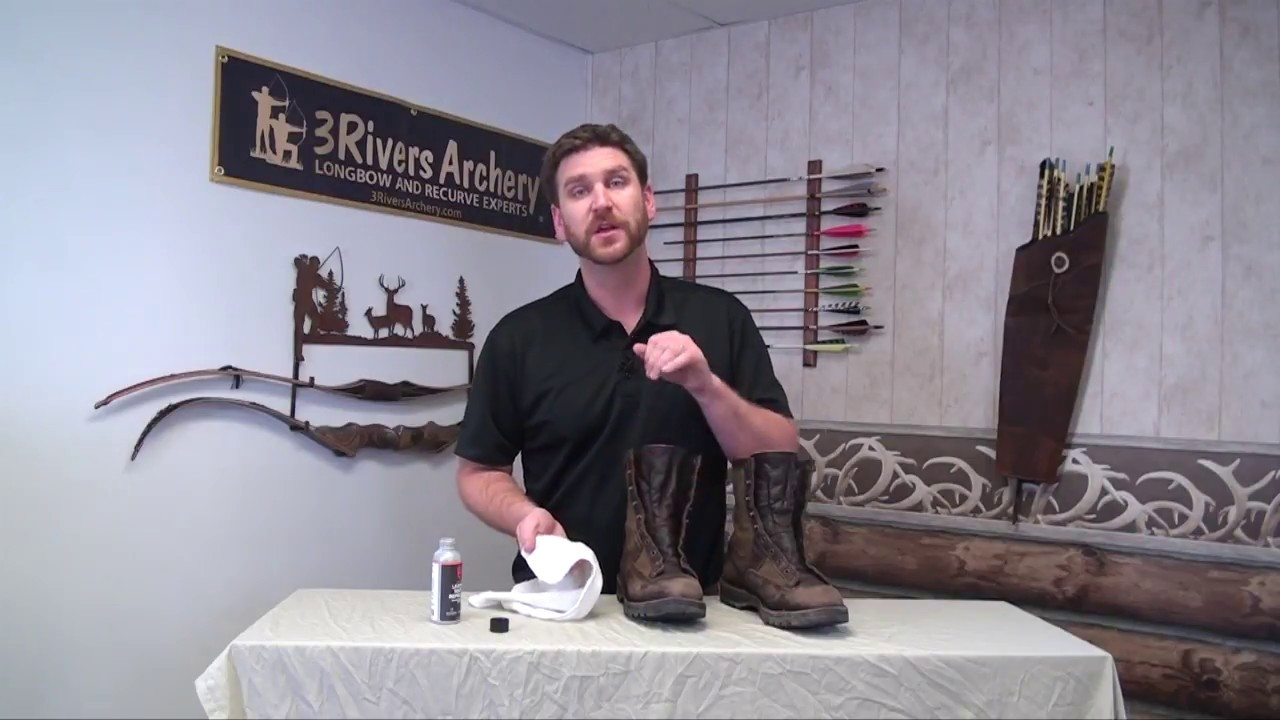 Learn how to Waterproof Boots with Revivex Leather Water Repellent Gel from Gear Aid