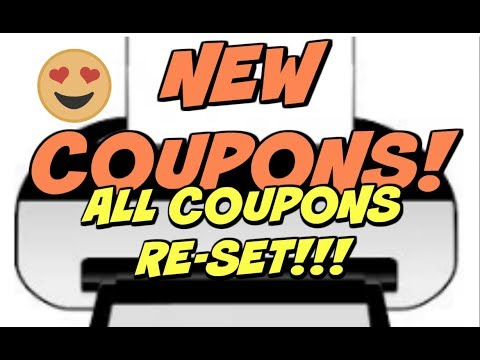 PRINT NOW!!!  COUPON RE-SETS:  CoverGirl / Arm & Hammer / & more!