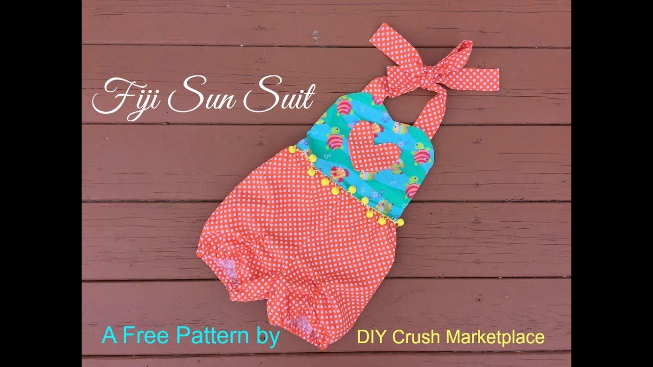 Free fiji sun suit sewing pattern youtube free fiji sun suit sewing pattern jeuxipadfo Gallery