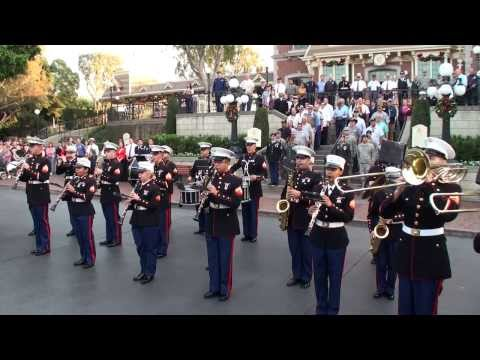 1st Marine Division Band - Disneyland - Veterans Day 2013