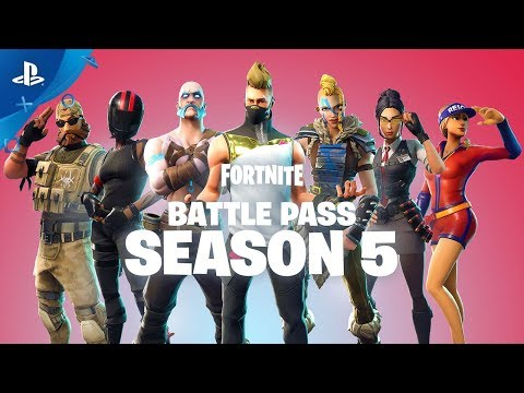 Fortnite - Battle Pass Launch Trailer | PS4